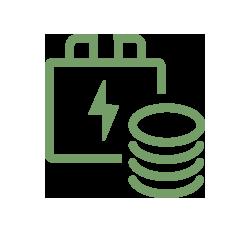 Coste de la energía consumida